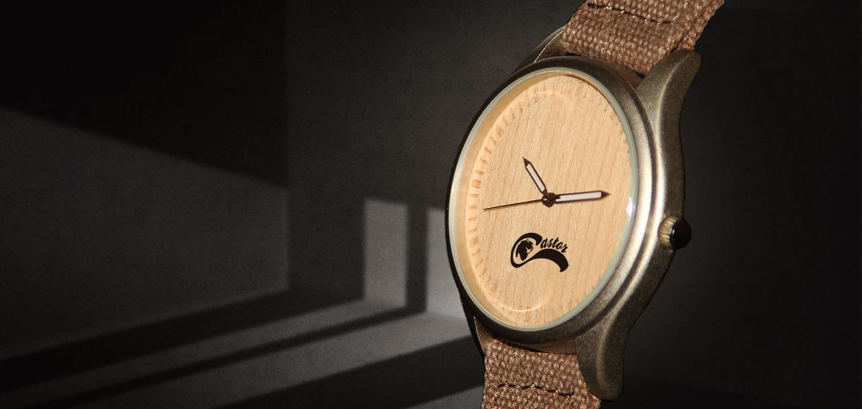 Relojes Castor - Relojs de Madera