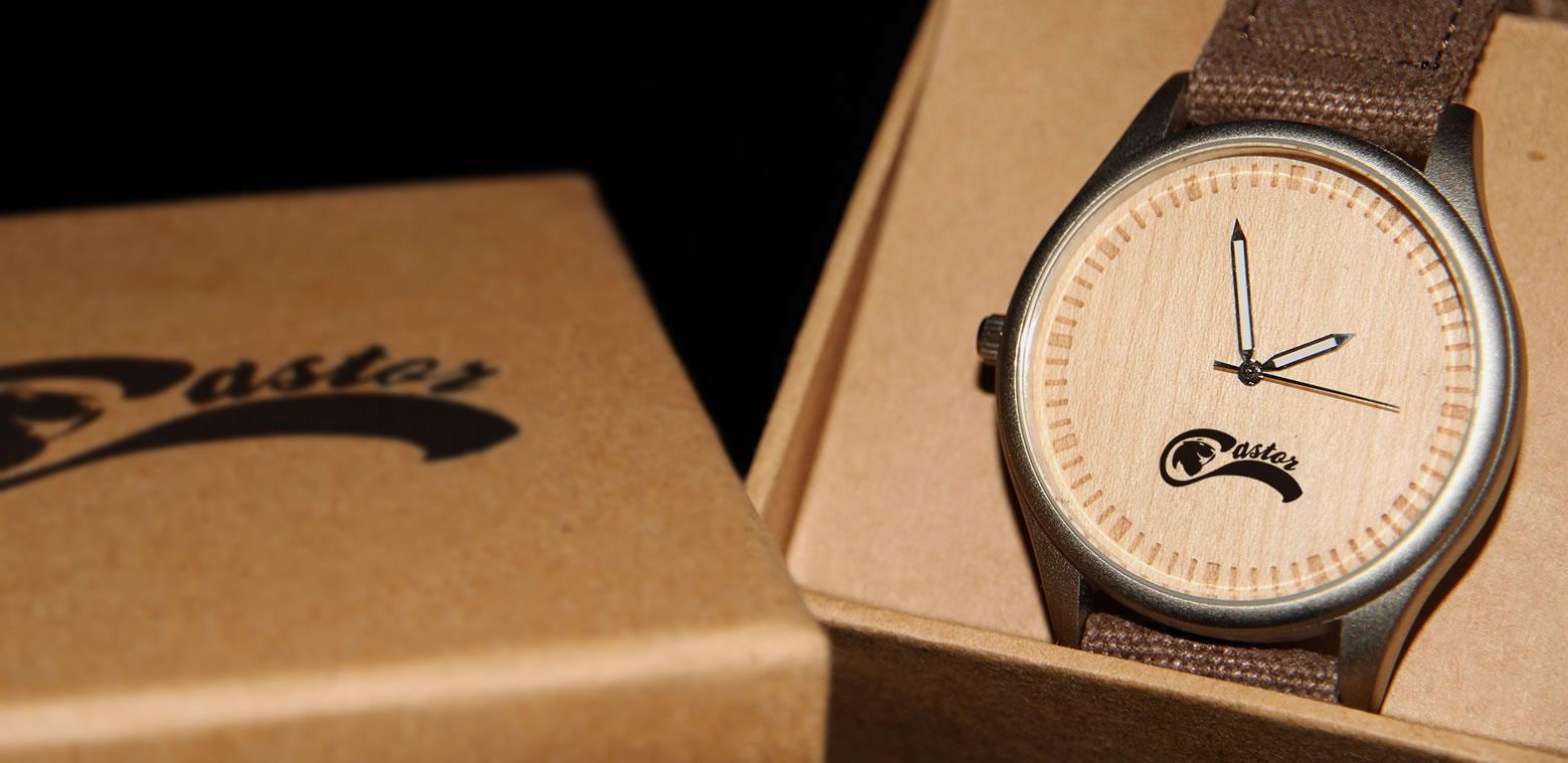 Relojes Castor - Reloj Bamboo Aluminio