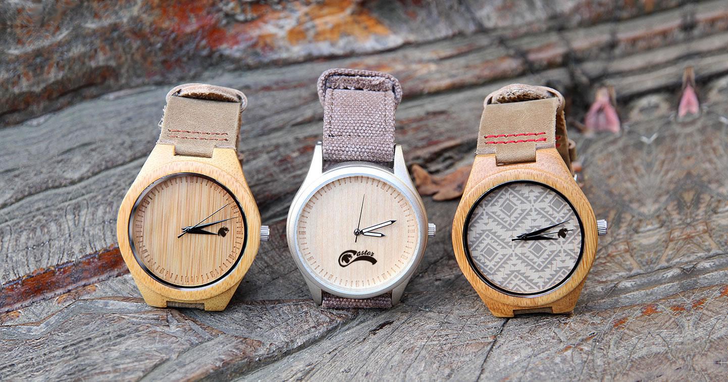 Relojes Castor - Relojes de Madera