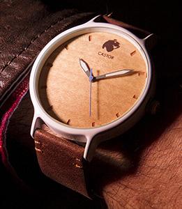 Relojes de Madera - Castor