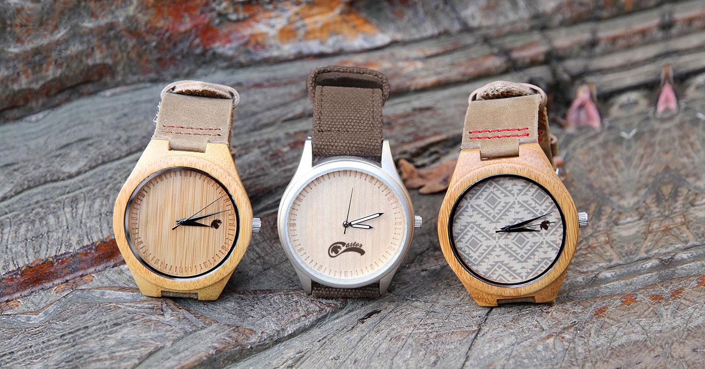 Relojes de Madera Castor