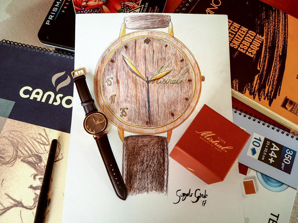Reloj Corporativo Castor Mistral